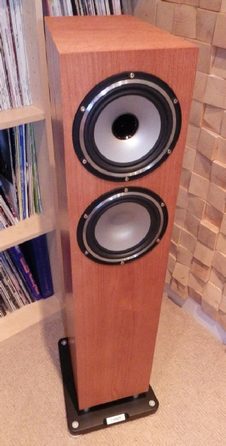 placement of tannoy xt6f