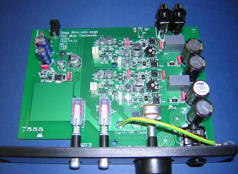 deco audio headphone amplifiers, schematic
